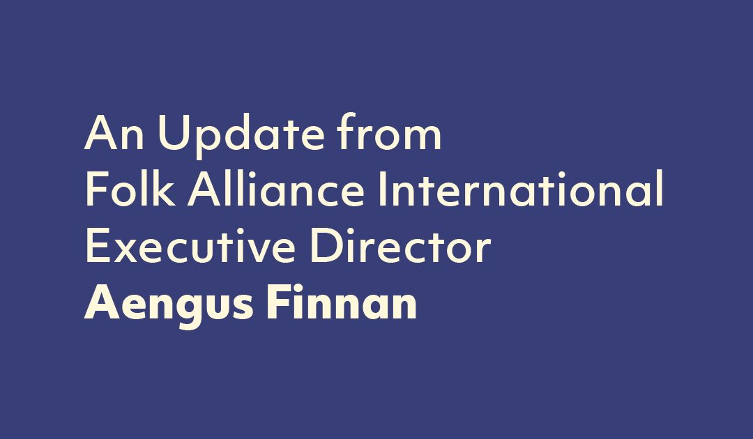 An Important Update From Our Executive Director