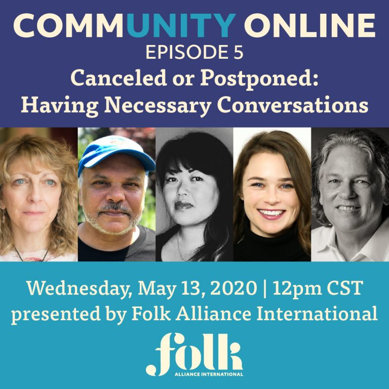 CommUNITY Online Episode #5: Canceled or Postponed - Having Necessary Conversations