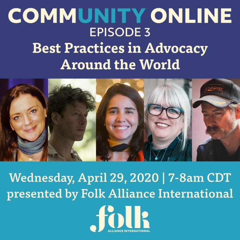 CommUNITY Online #3: Best Practices in Advocacy Around the World